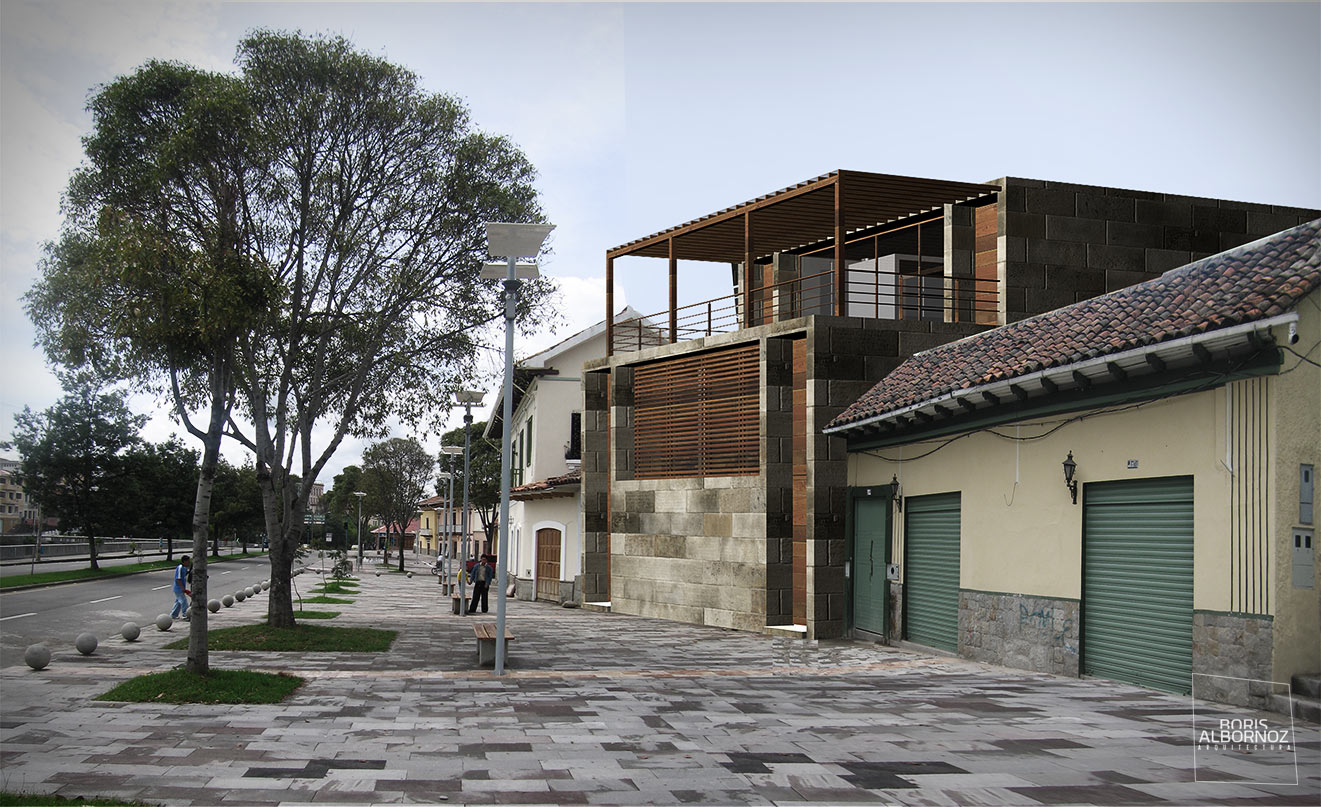 Bar Cuenca Boris Albornoz Arquitectura